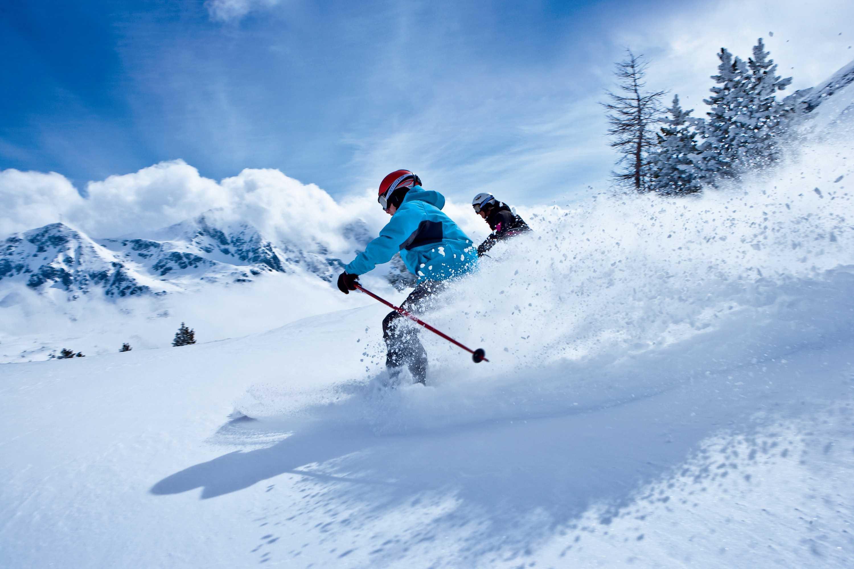 Ski Powder mit einzigartigen Ausblick