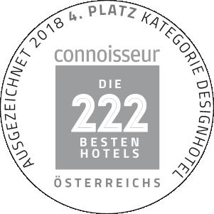 4. Platz bei den 222 besten Hotels Österreichs
