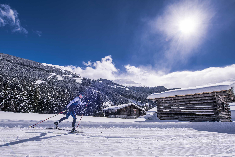 80 km ski langlauf im gasteiner tal im salzburger land for Designhotel skifahren