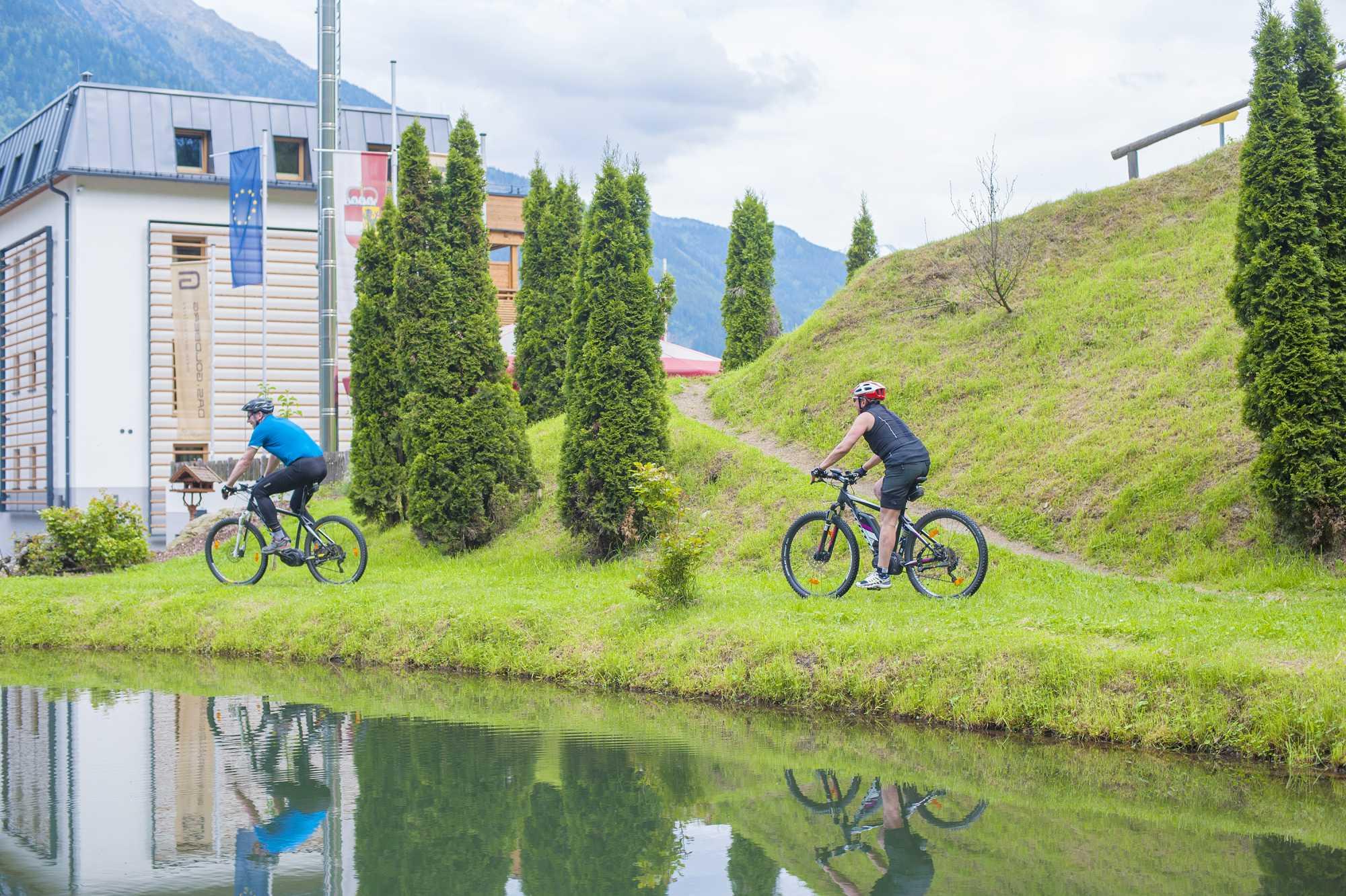 Biken im nationalpark hohe tauern salzburger land for Designhotel salzburg