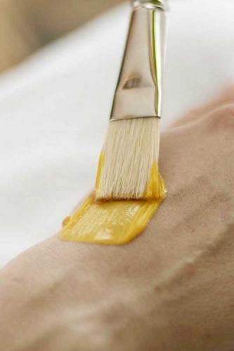 Wir verwenden nur ausgesuchte Pflegeprodukte für Ihre Haut