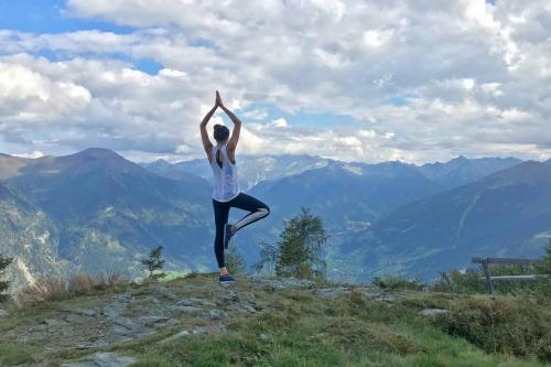 yoga urlaub berge