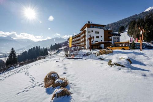Skihotel an der Piste