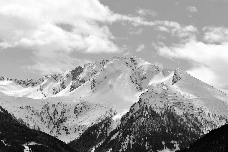 Genießen die Berge im Gasteiner Tal